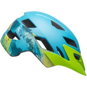 Bell Sidetrack Helmet Barn matte blue/bright green